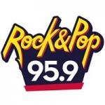 Logo da emissora Radio Rock & Pop 95.9 FM
