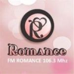 Logo da emissora Radio Romance 106.3 FM