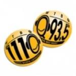 Logo da emissora WTBQ 1110 AM