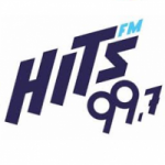 Logo da emissora Rádio Hits 99.7 FM