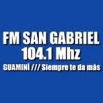 Logo da emissora Radio San Gabriel 104.1 FM