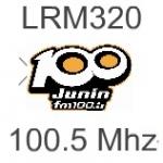 Logo da emissora Radio Sideral 100.5 FM