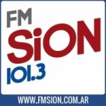 Logo da emissora Radio Sion 101.3 FM
