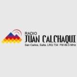 Logo da emissora Radio Juan Calchaqui 89.5 FM