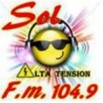 Logo da emissora Radio Sol 104.9 FM
