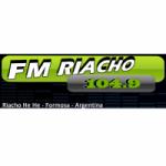 Logo da emissora Radio Riacho 104.9 FM