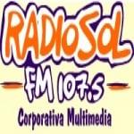 Logo da emissora Radio Sol 107.5 FM