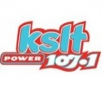 Logo da emissora KSLT 107.3 FM