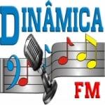 Logo da emissora Rádio Dinâmica 98.7 FM