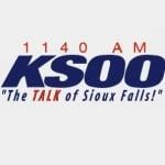 Logo da emissora KSOO 1140 AM