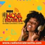 Logo da emissora Rádio Nova Brasilia