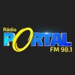 Logo da emissora Rádio Portal 98.1 FM