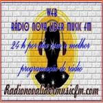 Logo da emissora Rádio Nova Líder Music FM