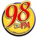 Logo da emissora Rádio Comunitária 98.1 FM