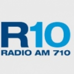 Logo da emissora Radio 10 710 AM