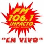 Logo da emissora Radio Impacto 106.1 FM