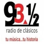 Logo da emissora Radio de Clásicos 93.5 FM