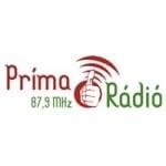 Logo da emissora Prima Radio 87.9 FM