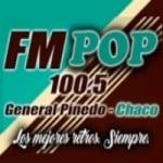 Logo da emissora Radio Pop 100.5 FM