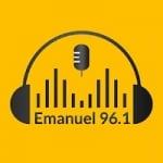 Logo da emissora Radio Emanuel 96.1 FM