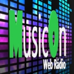 Logo da emissora Music On Webrádio