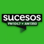 Logo da emissora Radio Sucesos 104.7 FM 1350 AM