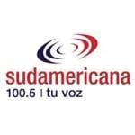 Logo da emissora Radio Sudamericana 100.5 FM