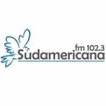 Logo da emissora Radio Sudamericana 102.3 FM