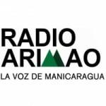 Logo da emissora Radio Arimao 105.7 FM