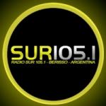 Logo da emissora Radio Sur 105.1 FM