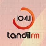 Logo da emissora Radio Tandil 104.1 FM