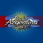 Logo da emissora Radio Argentina 89.3 FM