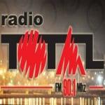 Logo da emissora Radio Total 90.1 FM