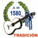Logo da emissora Radio Tradición 1580 AM