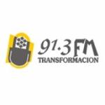 Logo da emissora Radio Transformacion 91.3 FM