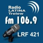 Logo da emissora Radio Latina 106.9 FM