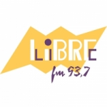 Logo da emissora Radio Libre 93.7 FM