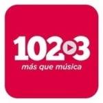 Logo da emissora Radio 102.3 FM