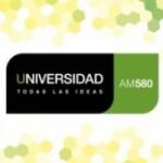 Logo da emissora Radio Universidad 580 AM