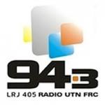 Logo da emissora Radio UTN FRC 94.3 FM