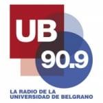 Logo da emissora Radio UB 90.9 FM