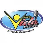 Logo da emissora Rádio Vida Publicidade