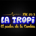 Logo da emissora Radio Tropical 89.3 FM