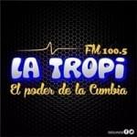 Logo da emissora Radio La Tropi 100.5 FM