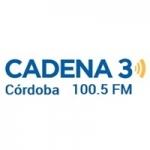 Logo da emissora Radio Cadena 3 100.5 FM