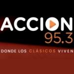 Logo da emissora Radio Acción 95.3 FM