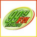 Logo da emissora Radio FM Espacio 99.9