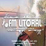 Logo da emissora Radio Litoral 104.1 FM
