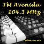 Logo da emissora Radio Avenida 104.3 FM