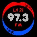 Logo da emissora Radio Siglo XXI 97.3 FM